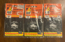 3 Packs South Bend Cheese And Egg Leader Trout Salmon