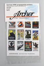 Archer 1/35 German Propaganda Posters WWI (21 posters) [Printed Diorama] AR35406