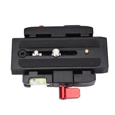release plate QR clamp adapter mount for manfrotto 501 500ah 701HDV 503HDV E_ES