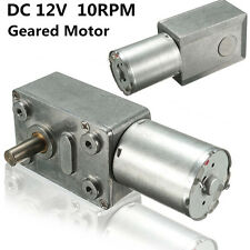 Reversible High torque Turbo worm Geared Gearbox motor JGY370 DC 12V 10rpm