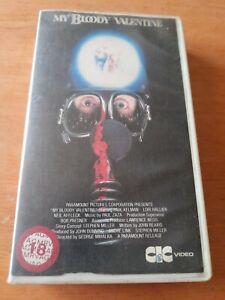 """Pre-cert CIC VHS """"MY BLOODY VALENTINE"""""""