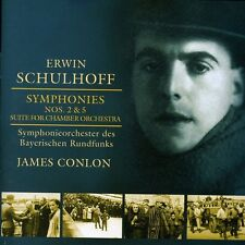 Erwin Schulhoff Symphonies Nos. 2 & 5 Suite for Chamber Orchestra CD