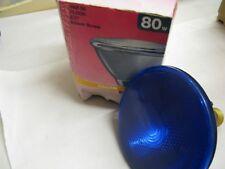 1 x New OSRAM CONCENTRA PAR 38 80W 30 deg 240V E27 ES BLUE Spot Light Lamp Bulb