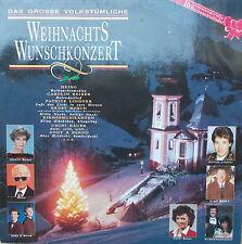 LP- DAS GROßE VOLKSTÜMLICHE WEIHNACHTS WUNSCHKONZERT,VG+,Heino,Ernst Mosch u.a,