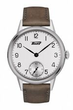 New Tissot Heritage Petite Seconde Leather Strap Mens Watch T1194051603701