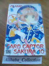 MANGA ** CARD CAPTOR SAKURA 10** PIKA CLAMP  EO VF + marque-page collector