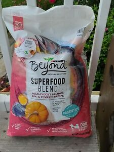 New Purina Beyond 14.5 LB Bag Superfood Blend Natural Dog Food Salmon Probiotics