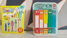 Numberblocks Cbeebies Number Blocks 1-15 With 3D Face Stickers Toy