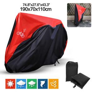 Waterproof Nylon Triple 3 Bicycle Cycle Bike Cover Rain Dust Resistant Garage