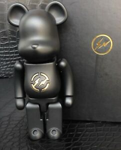Medicom Bearbrick 2010 Fragment Design Black 200% Chogokin/Metal Be@rbrick MINT
