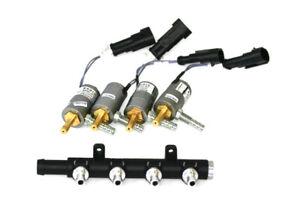 4 Zylinder Magic Jet Injektoren+Verteilerleiste Einspritzung KME Autogas LPG CNG