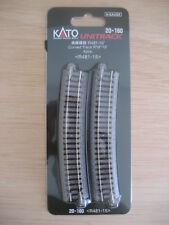 Kato - ref.20-160 - 4 vías curvas R481, 15º (radio 6 = 481 mm)