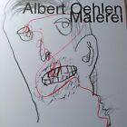 ALBERT OEHLEN Original Signed Drawing on Print