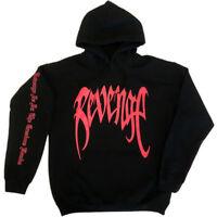 Revenge Printed Hip Hop Hoodie Sweater Sweatshirt Pullover Long Sleeve Jumper US
