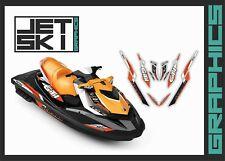 SEADOO GTI 2011-2019 graphics decals kit stickers set for jet ski vinyl