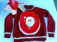 Just Another Stinking Christmas Ugly Sweater Complete vintage Toilet Tissue