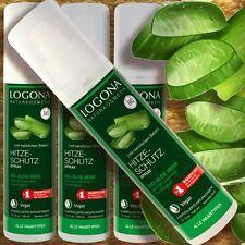 Logona Hitzeschutzspray Bio-Aloe Vera 150ml Naturkosmetik vegan alle Haartypen