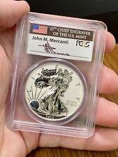2013-W $1 Silver Eagle PCGS PR69 Reverse Proof Mercanti Signature West Point Set