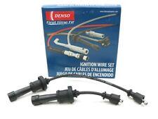 Spark Plug Wires fit for 2001-2006 Hyundai Santa Fe Sonata 2001-2006 Kia Magentis Optima 2.4L L4 Ignition Wire Set 2 Pack, 7mm