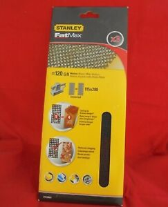 STANLEY Fat Max Mesh Sanding Pads 3 Sheets