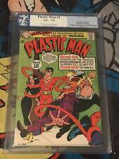 PLASTIC MAN #1 PGX NOT CGC 7.5 1st Appearance Justice League Gil Kane Batman