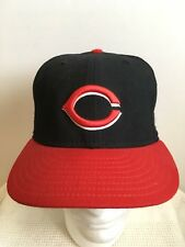 Cincinnati Reds New Era Authentic Collection USA Flag Wool Fitted Hat 6 7/8