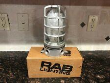 RAB Vaporproof Fixture Ceiling Mount VX100DG 150w NEW w/ Free Shipping