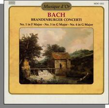 Musique d'Or 12: Bach - Brandenburg Concertos Nos. 1, 3, 4 - New Classical CD!