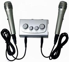 Azusa Mik0115 Karaoke Mixer with Microphones