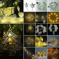 LED Battery Fairy String Lights Battery Operated Wedding Party Lamp Decoration