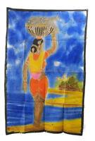 Batik Donna Hindu India 115x 74cm Parete 13
