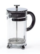 RSVP French Press 8-Cup Coffee Maker 34-Ounce Glass Chrome Stainless Steel FP-8