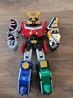 "Bandai Power Rangers DX Deluxe Samurai Megazord 11"" Inch with Helmet"