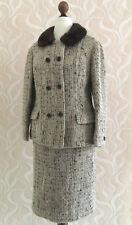 50er Kostüm Blazer Rock Modele De Couture De Paris Vintage 50s Suit Gr.36/38