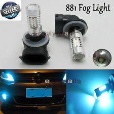 H27W/2 881 886 894 898 899 PGJ13 LED Fog Light Daytime Running Bulb Ice Blue U