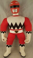 "Power Rangers Lost Galaxy POWER BASHERS RED RANGER 20"" Bandai 1999 PLUSH DOLL"