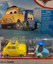 "DISNEY PIXAR CARS  ""LUIGI & GUIDO"" NEW IN PACKAGE, SHIP WORLDWIDE"