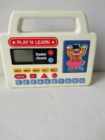 VINTAGE RADIO SHACK PLAY'N LEARN ELECTRONIC LEARNING GAME NO.60-1092 - 1986