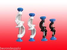 Lab aluminium alloy powder coating CROSS CLIP clamp holder 12 mm new