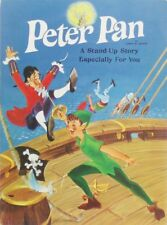 Vintage HALLMARK STAND-UP STORY Pop-Up Booklet PETER PAN Play Book