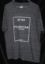 Fourstar Clothing No4 Tee Shirt Large