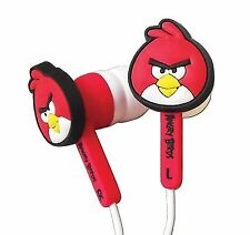 Angry Birds Bird Ear Buds Accessory Set for Nintendo Dsidsi Xl3ds Red 4pc