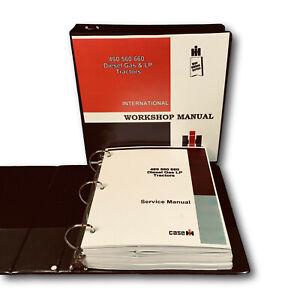FARMALL INTERNATIONAL 460 560 660 TRACTOR SERVICE MANUAL REPAIR SHOP BOOK IH