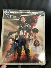Captain America First Avenger 4k UHD Blu-Ray Digital HD Steelbook Neu Marvel Mcu
