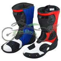 Motogp motorcycle boot Motorbike leather shoes racing boots