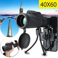 60X Universal Mini HD Telescope Optical Phone Camera Zoom Lens Monocular