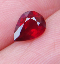 EXQUISITE PIGEON BLOOD RED RUBY 19.65CT 13x18mm PEAR CUT AAAA+ LOOSE GEMSTONES