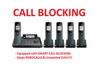 AT&T CLP99587 5 Handset Connect to Cell Phone System with SMART CALL BLOCKER