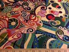 """""""Basha"""" By  Alexander Henry Fabrics 100% Cotton quilting fabric 44""""W By The Yard"""