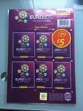 Panini Euro 2012 Stickers Unopened Multipack